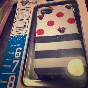 Disney iPhone case and wristlet!